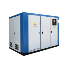 China Factory Two Stage Compression Screw Air Compressor For Sale