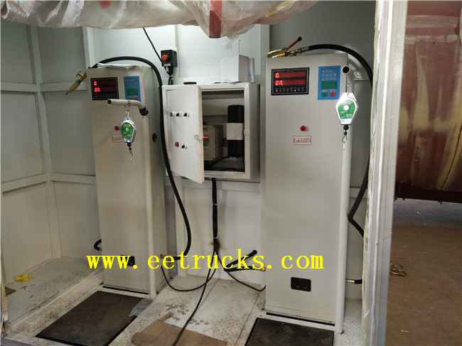 50 CBM LPG Skid Mounted Filling Stations