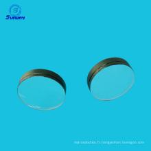 dia 25mm longueur focale 45mm Plano convexe lentilles verre optique