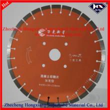 Disco de corte de hoja de diamante de 450 mm para granito