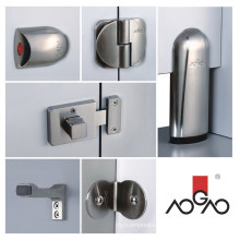 Public Precision Casting Stainless Alloy Washroom Partition Hardware