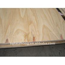 Contraplacado de pinho de construção de alta qualidade (12.0 * 1220 * 2440MM)