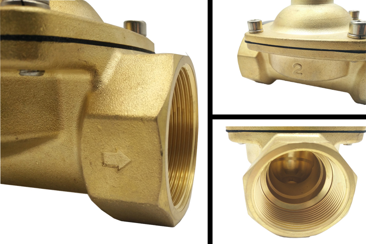 The Detail of 2W500-50 water diaphragm valves: