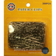Hot Sales non- magnetic Paper Clips Different Kinds Paper Clips