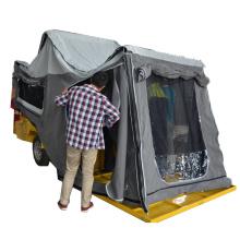 remolque camper campo a través con caja de herramientas qingdao