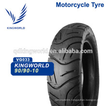 90/90-10 inch moped scooter tubeless tire