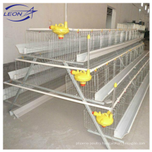 Leon series A type low-priced quality layer chicken cage for West Africa