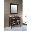 Antique Solid Wood Bathroom Cabinet (1803)