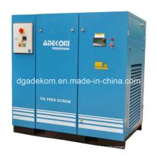 Inverted Controlled Oil Free 8 Bar Screw Compressor (KD75-08ET) (INV)