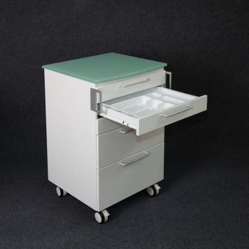 Больничный шкаф мобильной тележки