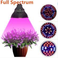 Полный спектр 30W 50W 80W СИД растет света E27 Сад сада цветения Hydroponics Овощи завод Лампы