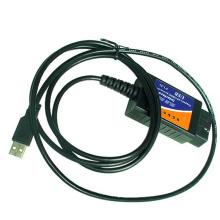 ELM327 OBD2 Auto herramienta de diagnóstico línea escáner línea V1.5 (CP2012)