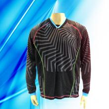 100% Polyester Man′s Long Sleeve Motor Jersey