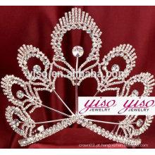 Costume de luxo costume princesa coroa coroa tiara