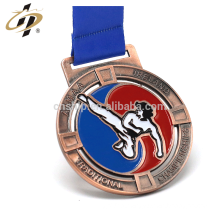 China factory custom own emboss sports design antique award medals