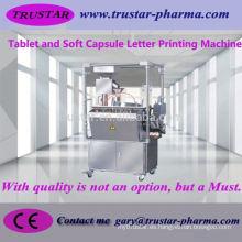 Máquina farmacéutica máquina de impresión de la letra de la tableta