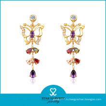 Красочные цвета стерлингового серебра очаровательная ювелирные изделия для оптовой продажи (Е-0157)