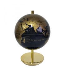 Décoration de bureau mini globe terrestre