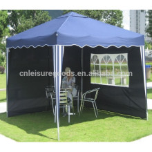 Aluminum folding gazebo with side wall