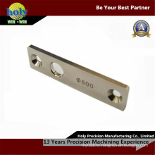 Custom CNC Machining Brass Name Plate with Laser Engraving