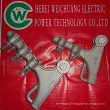 serre-câble à haute tension / alimentation électrique / matériel