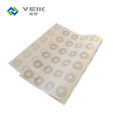 0.75mm Thickness 295*420mm Silicone Baking Mat