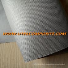 0,45 milímetros tecido de fibra de vidro PU revestido para cobertores à prova de fogo