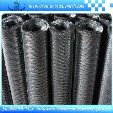 Malla de metal delgada con bajo contenido de carbono y malla metálica expandida