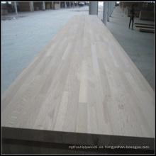 Plataformas de madera de roble seleccionadas para uso en interiores