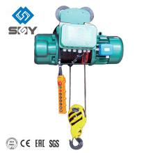 Электрическая лебедка веревочки провода монорельса с тележкой