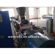 PP PE film recycling pelletizing machine