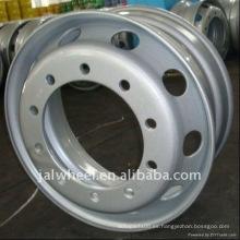 10 agujeros de acero de plata rueda de la rueda