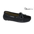 Women′s Moccasin Casual Driving Shoes Slip on Footwearwith String