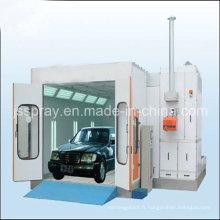 Cabine de peinture de jet de grande taille pour la peinture et la cuisson de camion et d'autobus avec le CE et l'OIN approuvés