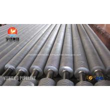 Tubo con aletas de acero al carbono ASME SA179