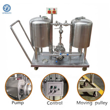 Semi automatic 200l cip washing unit cip cart for Industrial beer Tank