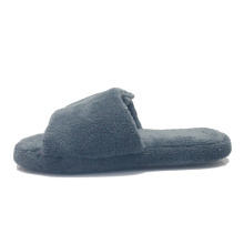 Women comfortable winter warm indoor soft slide slippers