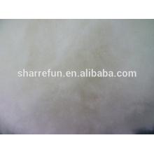 Enthaarte und kardierte chinesische Lammwolle natürliches Weiß mit Fabrikpreis