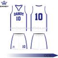 Custom Blank Cut And Sew Basketball wear