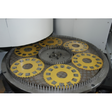 Air condition compressor blade surface grinding machine