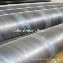 2015 hot sale hot dipped galvanized erw steel pipe