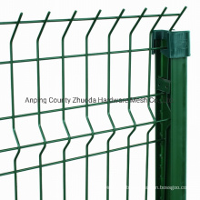 China Professional Supplier Powder Coating Curvy Welded Mesh Fence