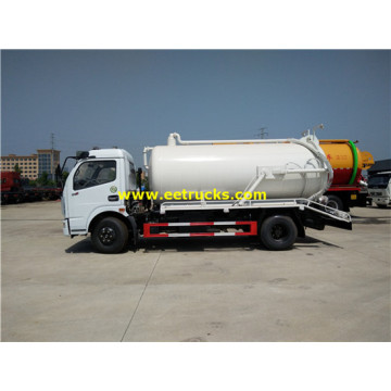 Dongfeng 5000 Liters Feces Vacuum Trucks