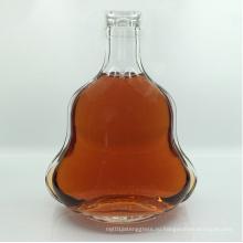 700 мл Пустая бутылка коньяка с алюминиевой крышкой Стеклянный графин