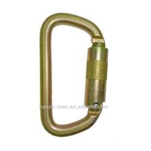ANSI-2308TL Gold Galvanized Steel D ANSI Safety Hook