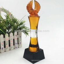 Производство Китая профессиональный изготовленный на заказ новой конструкции кристаллический трофей награду