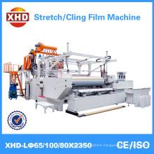 high speed plastic stretch cling film machine model 65/100/80 *2350