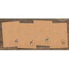 Nouveau design Papier Kraft sur mesure Impression sur offset Impression d'un petit livre d'exercices pour étudiants