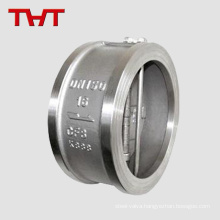 316 stainless steel dual plate swing wafer type dual-plate check valve