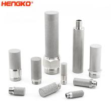 Uniform porosity 0.2 5 10 20 40 50 70 90 microns sintered metal filter 316L stainless steel filter